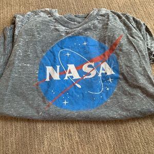 Fifth Sun Nasa heather grey shirt